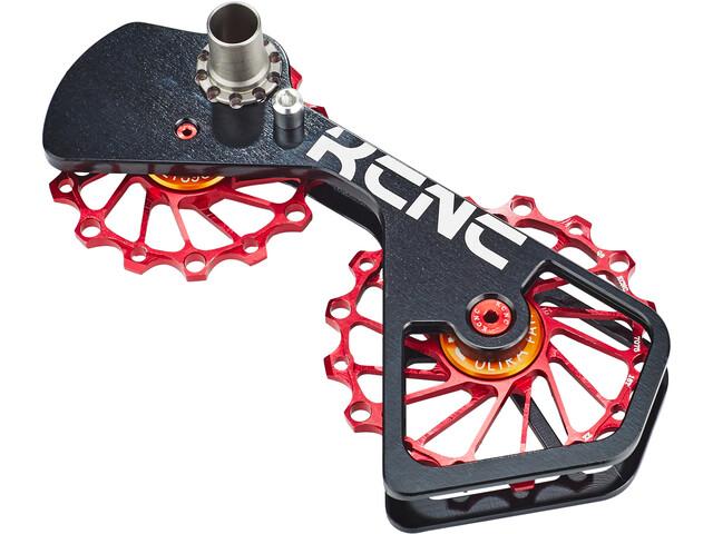 KCNC Jockey Wheel System SUS do Shimano 10S/11S 14+16 z., red
